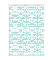 Park Lane Paperie 5x7 Embossing Folder: Damask