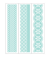Park Lane Paperie  Embossing Borders: Lace
