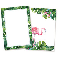Journal Cards 6x4: Let's Flamingle