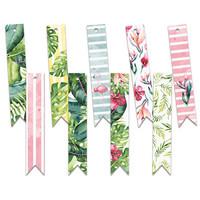 Let's Flamingle Decoration Tags 3  - koristeet