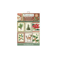 Winter Botanic Scrapbooking Cards - paperikokoelma