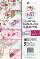 Prima Marketing: Misty Rose A4 paperikokoelma