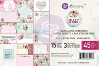 Prima Marketing: Misty Rose 4x6 Journaling Cards