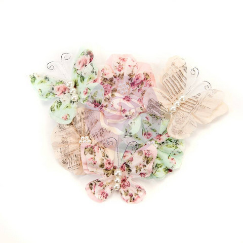Prima Marketing Flower Embellishments: Misty Rose Mabel