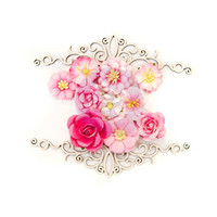 Prima Marketing Flower Embellishments: Misty Rose Maggie