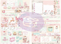 Prima Marketing: Santa Baby Word Quote Stickers