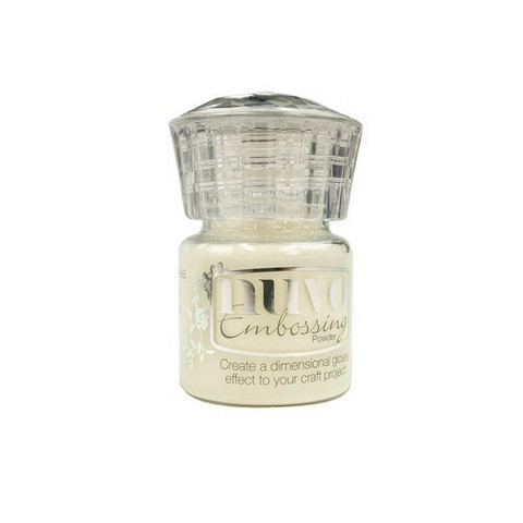 Nuvo Embossing Powder: Crystal Clear  22ml