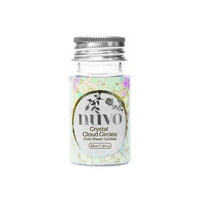 Nuvo Confetti: Crystal Cloud Circles