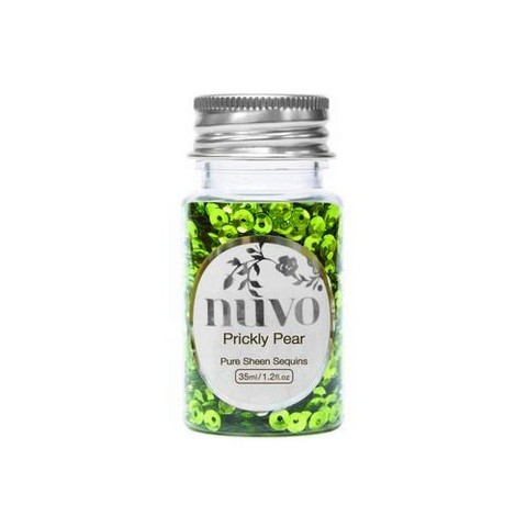 Nuvo Sequins: Prickly Pear