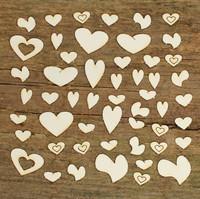 Sydämet - chipboardkuviopakkaus