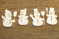 Lumiukot 1  - chipboardkuviopakkaus