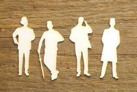 Herrasmiehet 1  - chipboardkuviopakkaus
