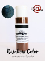 13arts Ayeeda Rainbow Color: Black 28g