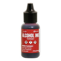 Alcohol Ink 15 ml :  Crimson