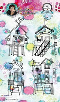 Art by Marlene: Houses Clear Stamps A5 - leimasinsetti