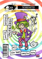 Alice in Wonderland: The Mad Hatter A6 -leimasinsetti
