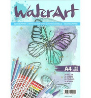 Water Art akvarellipaperipakkaus A4