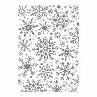 Fractal Snowflakes - taustaleimasin
