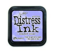 Distress Ink: Shaded Lilac -mustetyyny