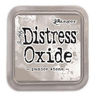 Distress Ink Oxide: Pumice Stone -mustetyyny