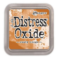 Distress Ink Oxide: Rusty Hinge -mustetyyny