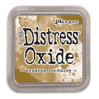 Distress Ink Oxide: Brushed Corduroy -mustetyyny