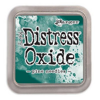 Distress Ink Oxide: Pine Needles -mustetyyny
