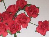 Reprint: Red Roses  - paperikukkapakkaus