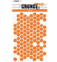 Grunge Collection: Honeycomb #12 A5 -sabluuna