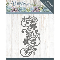 Winter Flowers: Snowflake Flower Swirl -stanssi