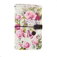 Prima Marketing: Misty Rose Traveler's Journal Personal - kannet