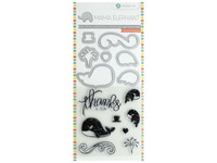 Mama Elephant Stamp & Die: Whale Thanks