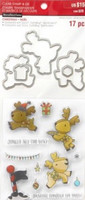 Reindeer Fun Clear Stamp & Die Set