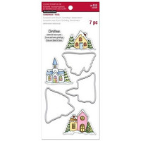 Christmas Village Clear Stamp & Die Set