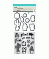 Stamp & Die Set: Cactus