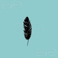 Latarnia Morska:  Feather Small - unmounted leimasin