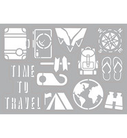 Travel  Self-adhensive A4 -sabluuna