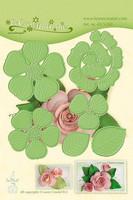 LeCrea Multi Die Flowers: Rose 016 -stanssisetti