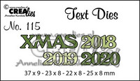 Text Dies: Xmas 2018 2019 2020 - stanssisetti