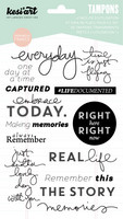 Memories Clear Stamps