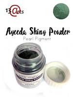 Ayeeda Shiny Powder: Cyan Green - helmiäisjauhe