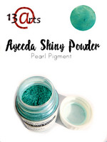 Ayeeda Shiny Powder: Green Blue - helmiäisjauhe