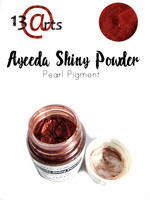 Ayeeda Shiny Powder: Wine Red Satin- helmiäisjauhe