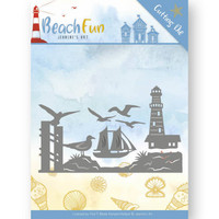 Beach Fun: Lighthouse Border -stanssisetti