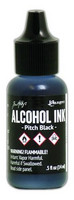 Alcohol Ink 15 ml :  Pitch Black
