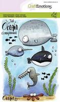 Craft Emotions: Ocean #1 - kirkas leimasinsetti