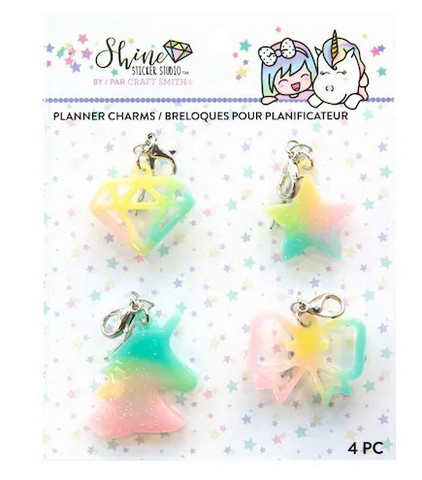 Shine Sticker Studio Planner Charms  - koristepakkaus
