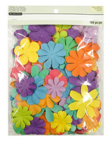 Recollections Paper Flowers Value Pack: Bright Petals