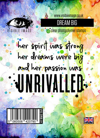 Dream Big -leimasin