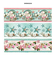 Medium Shrink Sleeves:  Shabby Chic Winter Christmas #40